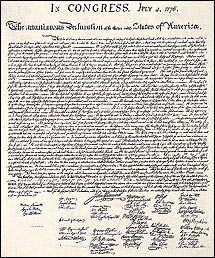graphic about Printable Declaration of Independence Pdf identify NARA Demonstrate Corridor The Declaration of Freedom